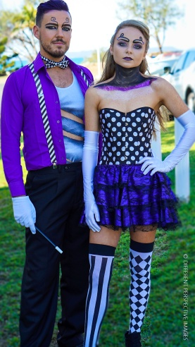Chloe & Brodie - Magician & Assistant-2